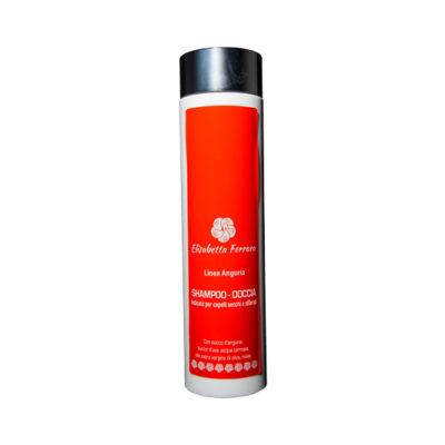 Salute e Benessere - Shampoo-Doccia all anguria - per Capelli Secchi e Sfibrati - TuttoCalabrese - Made in Calabria