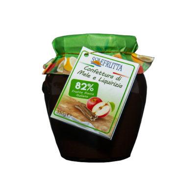 Solefrutta - Confettura Extra di Mele e Liquirizia - TuttoCalabrese - Made in Calabria